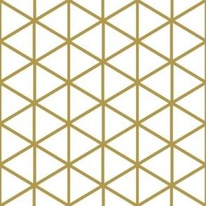 Isometric Graph Paper-Gold-Deco Nouveau Palette