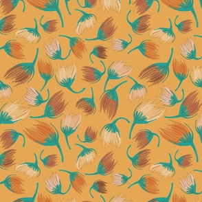 On The Breeze-Jurassic Gold-Distant Dunes Palette