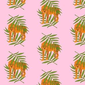 Cheetah Jungle Camouflage - pink, medium