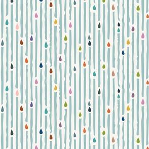rainbow raindrops (large)