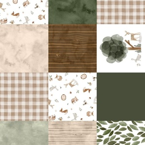 Woodsy Quilt (no words) rotated