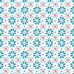 Moroccan Tile Geo Pattern