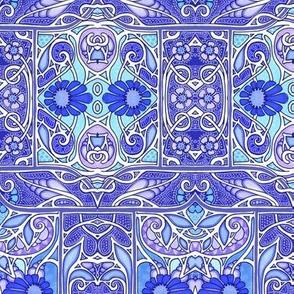 Purple and Blue Garden Experiene