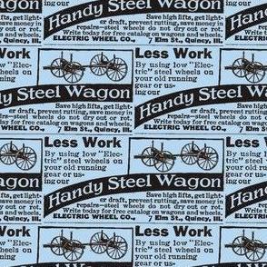 1915 ad Electric Wagon Wheels