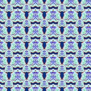 017_mandala_fish_colored_seamless_tiling_blue