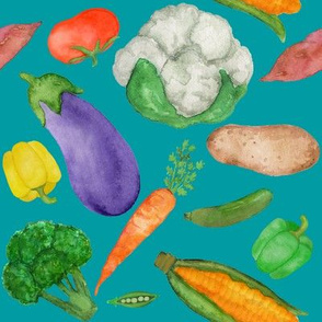 Vegetables - Peacock