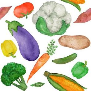 Vegetables - White