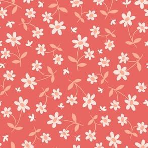 Western Floral in Cherry Pie