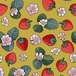 strawberry fields - olive