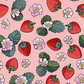 strawberry fields - peach