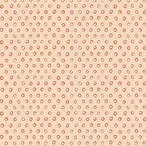 free dots peach