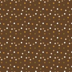 Polkadot-in-Autumn Large 1.6x1.6