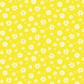 summer flowers yellow-small scale