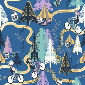 Bikers Trails2 blue