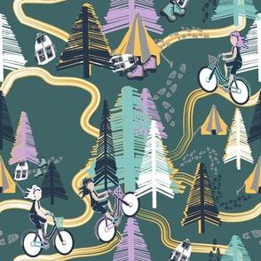 Bikers Trails2 green