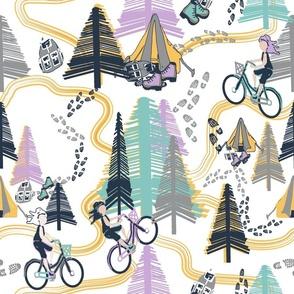 Bikers Trails2 white