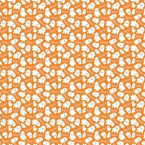 Cute Lil Ghosts - Orange and Pink, Tiny Scale