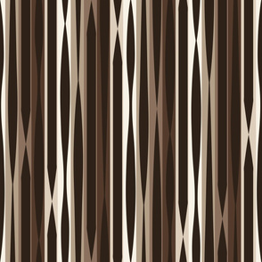 Striped Folly Neutral Large