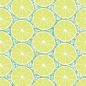 Half Lime Green Texture Background