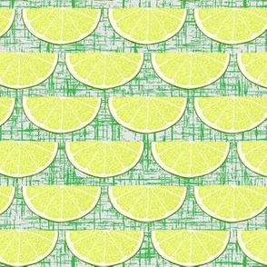 Quarter Lime Green Texture Background