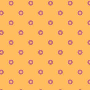 polka dot in Pastel and Cinnamon