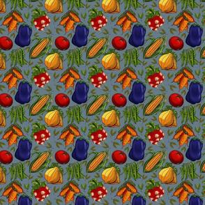 Vegetable Garden Melody-sm blue