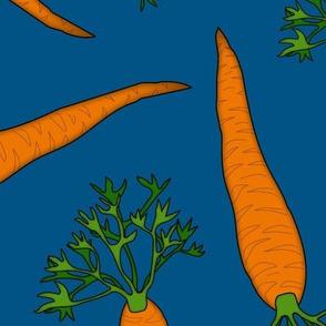 Carrots Large Blue