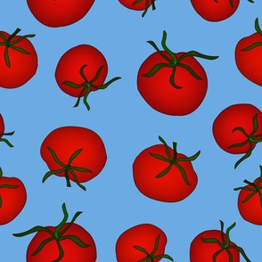 Tomatoes Medium Blue 2