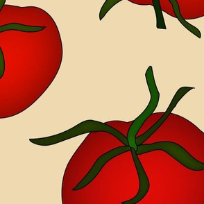 Tomatoes Large Cream