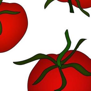 Tomatoes Large White