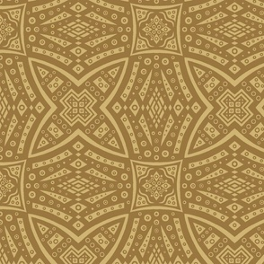 Byzantine Circlopse in yellow and golds at 75 percent