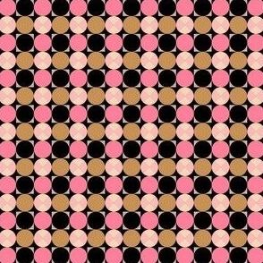 Circle Square Geometric Mini
