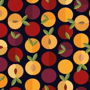 Geometrical fruit salad