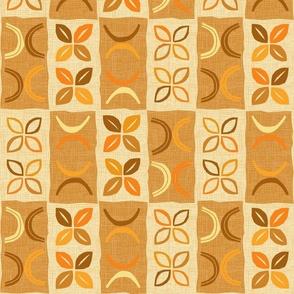 Hula Dance Orange Cream Brown