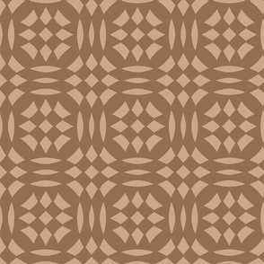 Circular Checkerboards in clays at 33 percent