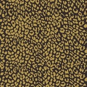 "6"" Gold and Brown Cheetah Print"