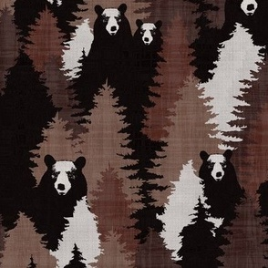 Bear Camouflage Brown