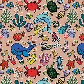 Under the Sea - mushroom