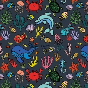 Under the sea - slate