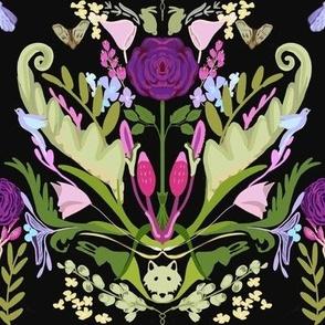 Oliver's Garden in Violet