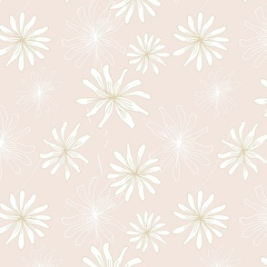 Delightful Daisy Pink and Gold.