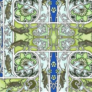 An Art Nouveau era Locust Plague