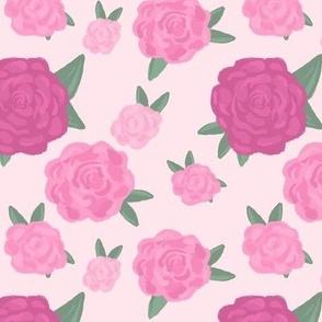 Blooming English Roses- Rose