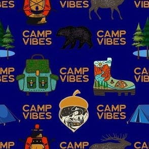 Hiker Camp Vibes Navy
