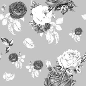 Floral art,vintage flowers, roses,colourful,blossom,nature,garden,summer,spring