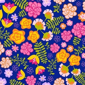 Fiesta Flowers -Otomi