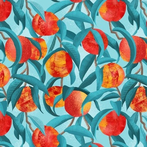 Fruit Trees - Nectarines - Teal