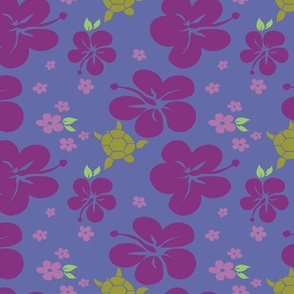 Hibiscus n turtle multi