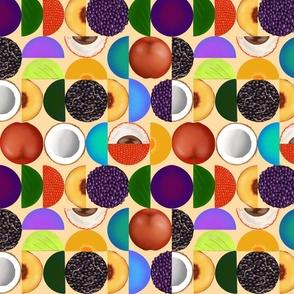 Stone fruits rounds