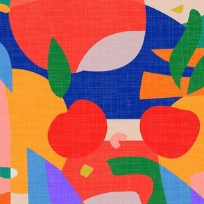 Abstract Fruits - Colorful Summer / Large